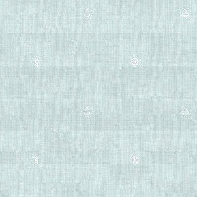 Papel de Parede Lullaby Marinheiro Azul Claro 2262