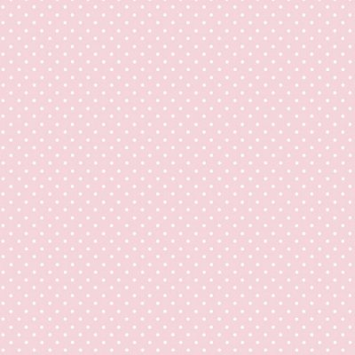 Papel de Parede Lullaby Poá Rosa 2272