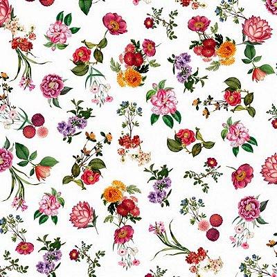 Papel de Parede Flores e Folhas Bobinex Brincar 3651
