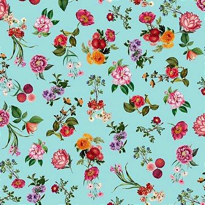 Papel de Parede Flores e Folhas Bobinex Brincar 3650