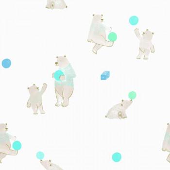 Papel de Parede Urso Bobinex Brincar 3624