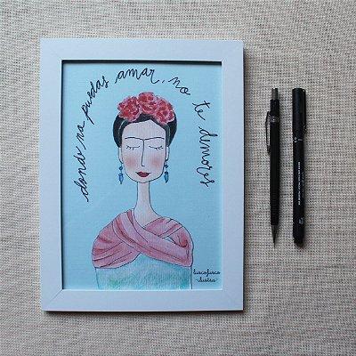 Quadrinho Frida