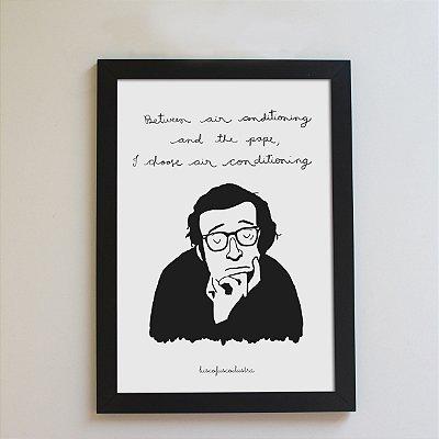 Quadrinho Woody Allen