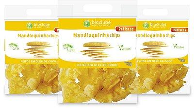 CHIPS DE MANDIOQUINHA 150 GR KIT COM 3 UNIDADES