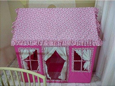 Casinha de Boneca - Para 3 Crianças