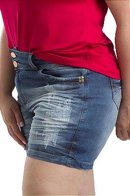 Short Stuhler Jeans Curto Plus Size
