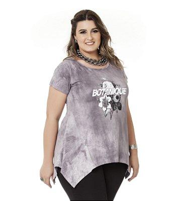 Blusa Viscolycra Tie Dey Nolita Plus Size