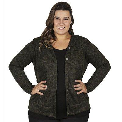 Cardigan Lanzinha Gracia Plus Size