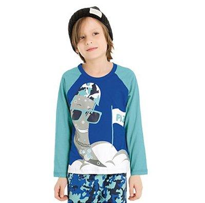 Pijama Infantil masculino estampado Família Bela Notte