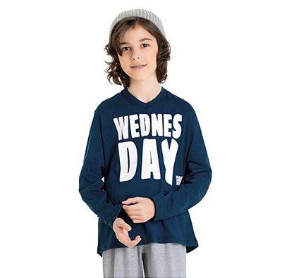 Pijama Juvenil masculino Divertido Família Bela Notte