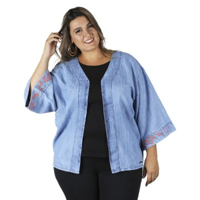 Kimono  Jeans By Unna Plus Size