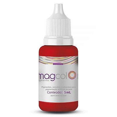 Pigmento Para Micropigmentação Mag Colors 5 Ml Vermelho