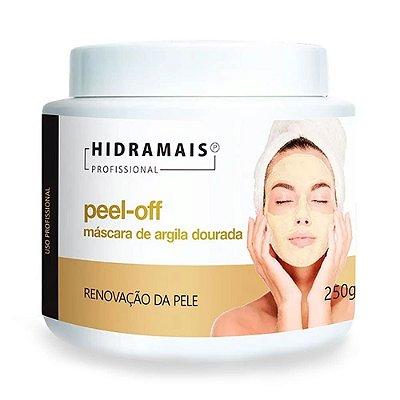 Máscara Facial De Argila Dourada Peel-Off Hidramais 250 gramas