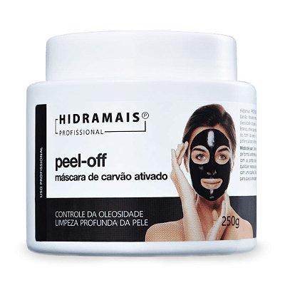 Máscara Facial De Carvão Ativado Peel-Off Hidramais 250 gramas