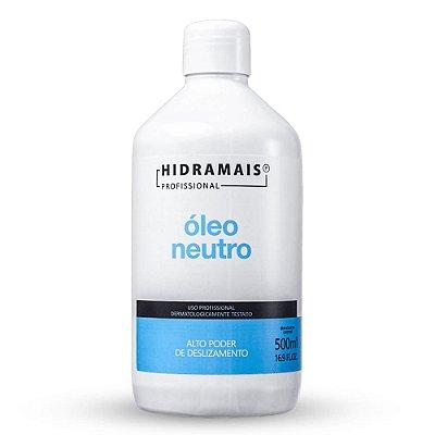 Óleo Neutro Alto Poder De Deslizamento Hidramais Profissional 500ml