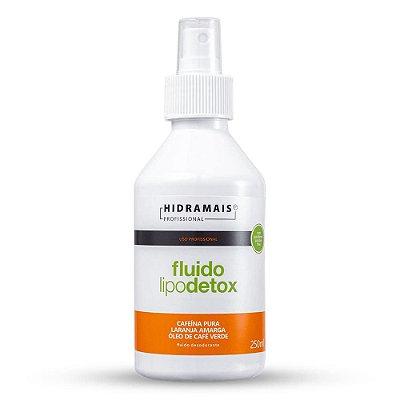 Fluido Desodorante Lipodetox com Cafeína Pura Sem Parabenos Hidramais 250ml