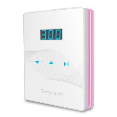 Controle De Velocidade Digital Slim White/Pink Dermocamp