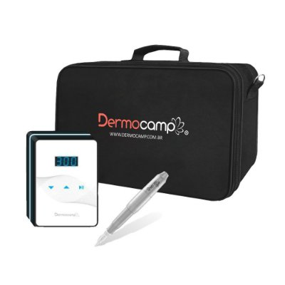 Conjunto Controle Slim White + Dermógrafo Sharp 300 Pró Prata