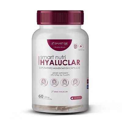 Suplemento Alimentar Smart Nutri Hyaluclar 60 Cápsulas 500mg