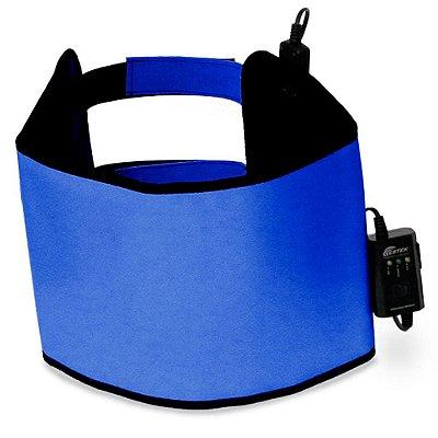 Manta Abdominal Standard Azul 27 x 97cm Estek Termotek 110V