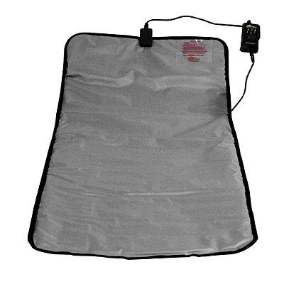 Manta Térmica Standard Para Procedimentos Estéticos 47 X 100 cm Prata 110V Estek