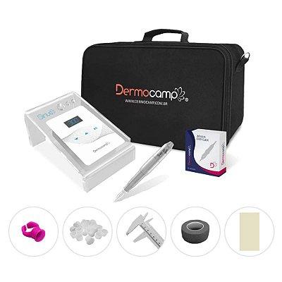 Combo Dermografo Sharp 300 Pro + Controle Digital Sirius White