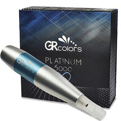 Dermografo Gr Pla 6000 Platinum Gr Colors Para Micropigmentacao