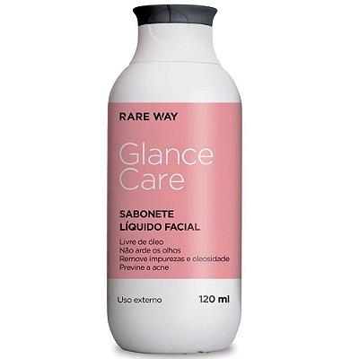 Sabonete Liquido Facial Pele 120ml Glance Rare Way
