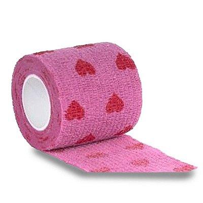 Bandagem Antiderrapante Para Dermografo E Pen - Pink Coracao Aston