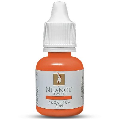 Pigmento Nuance Orange Mod 8ml Organico Para Micropigmentacao