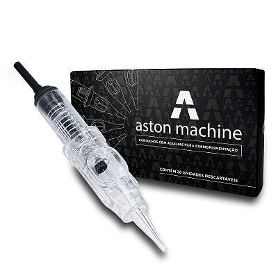 Agulhas Aston Encaixe Fácil 1Rl Ponta 0,30mm Caixa Com 20 Unidades