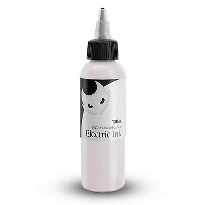 Tinta De Tatuagem Branco Real Electric Ink 120ml