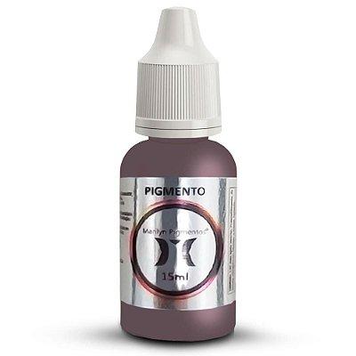 Pigmento Para Micropigmentacao Marilyn Castanho Medio-Medium Brown 15ml