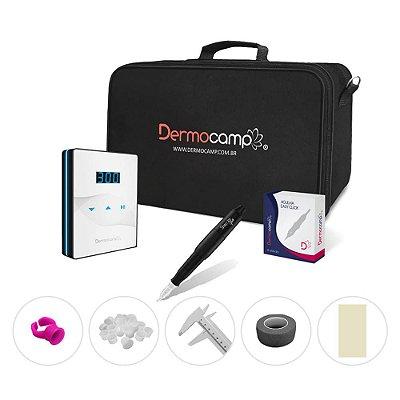 Combo Controle Slim White + Dermografo Sharp 300 Pro Preto