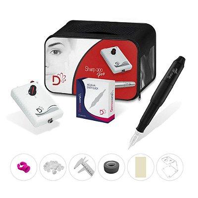 Combo Controle Analogico Baby + Dermografo Sharp 300 Pro Preto