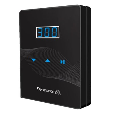 Controle De Velocidade Digital Slim Dark/Preto Dermocamp