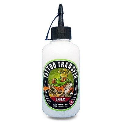 Transfer Cream  Para Tatuagem Higieniza E Hidrata Amazon 250ml