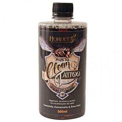 Clean Sabonete Antisseptico Calmante Para Tatuagem Hornet Tattoo 500ml