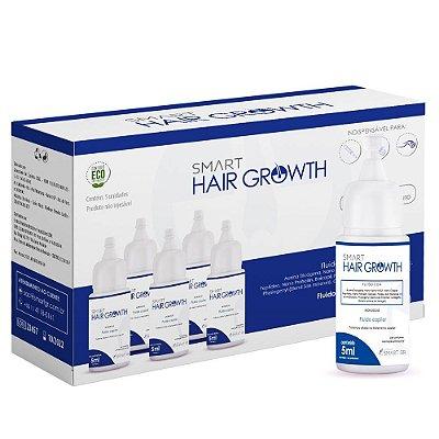 Kit Com 5 Fluidos Smart Hair Growth Solution Pro Capilar Smart Gr 5ml