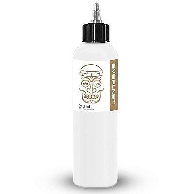 Tinta De Tatuagem Everlast True White Electric Ink 240ml