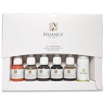 Kit Essential Para Micropigmentacao Sobrancelhas Linha Organica Nuance