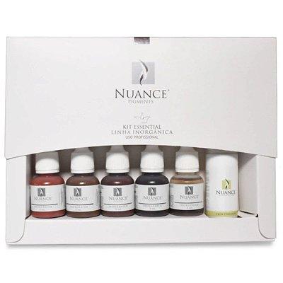 Kit Essential Para Micropigmentacao Sobrancelhas Linha Inorganica Nuance
