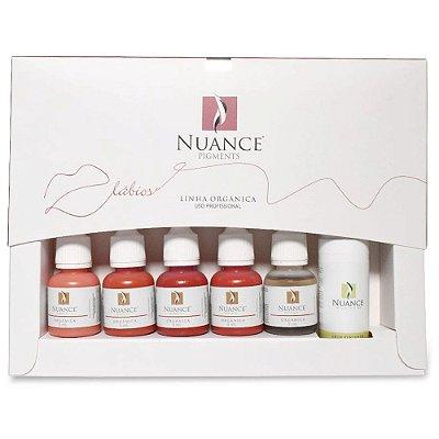 Kit Essential Para Micropigmentacao Labial Linha Organica Nuance