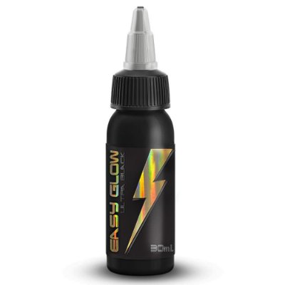 Tinta Para Tatuagem Easy Glow Ultra Liner Black Electric Ink 30ml