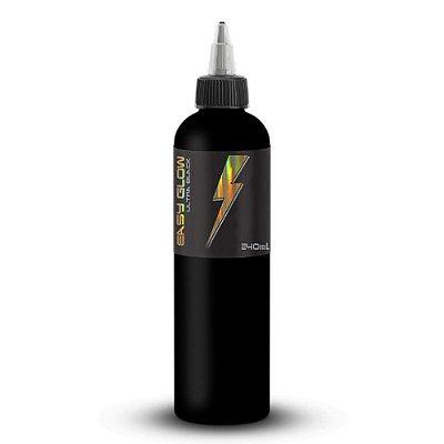 Tinta Para Tatuagem Easy Glow Ultra Liner Black Premium Electric Ink 240ml