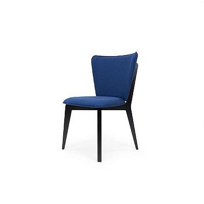 Cadeira Bumba - Azul e Ebanizado