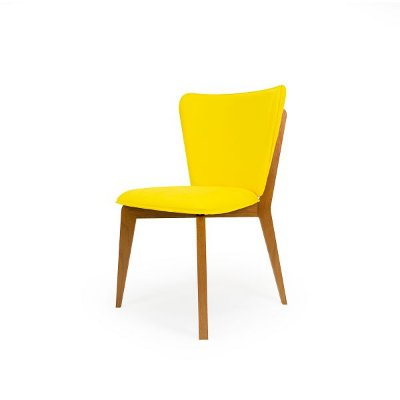 Cadeira Bumba - Amarelo e Mel