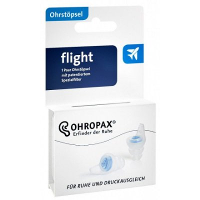 Ohropax para Voo Protetor Auricular com Filtro 1 Par 16 dB