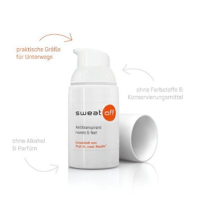 SWEAT-OFF HANDS & FEET 30 ml (P/ HIPERIDROSE - MÃOS E PÉS)