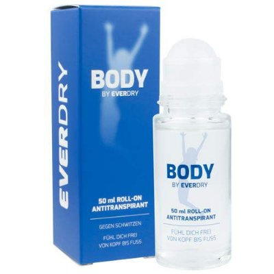 EVERDRY BODY ROLL-ON 50ml (P/ AXILAS E/OU CORPO TODO)
